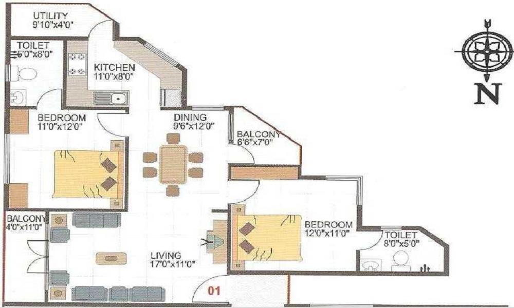 SM Maple Floor Plan
