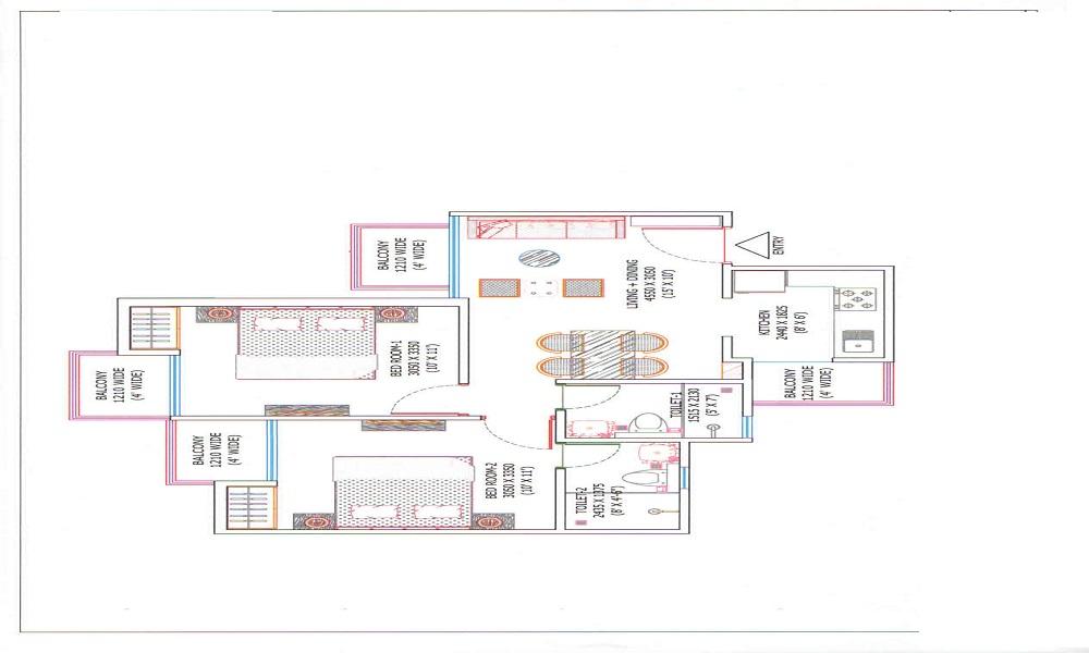 Ajnara Sports Republik Floor Plan