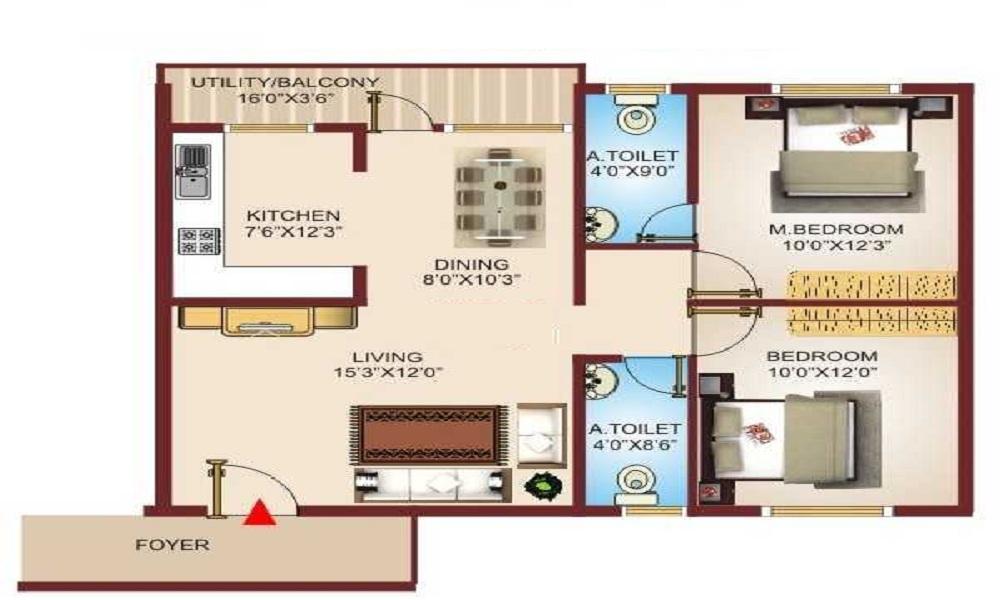 SRR SSD Pranav Floor Plan