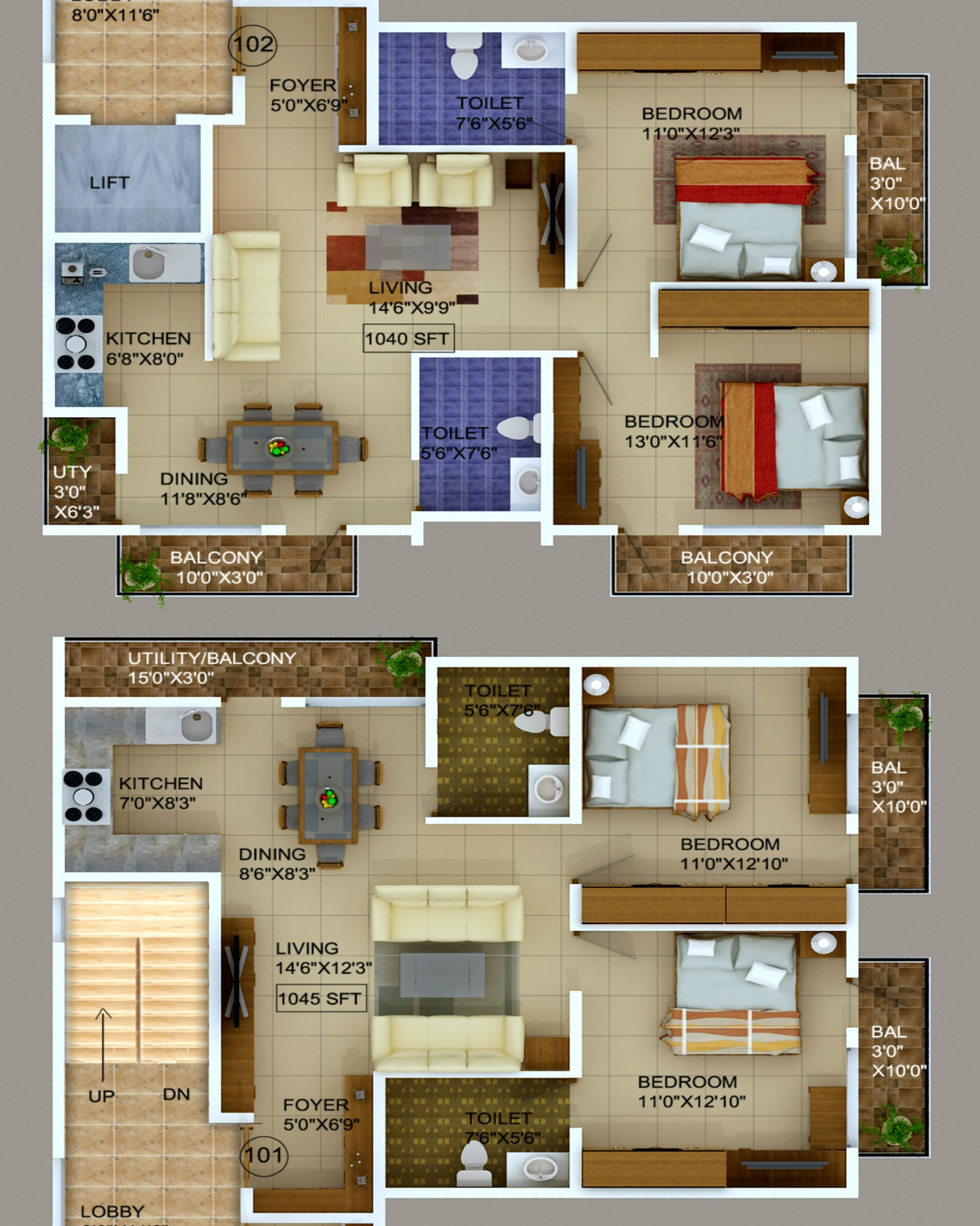 Supreme Sankalpa Floor Plan