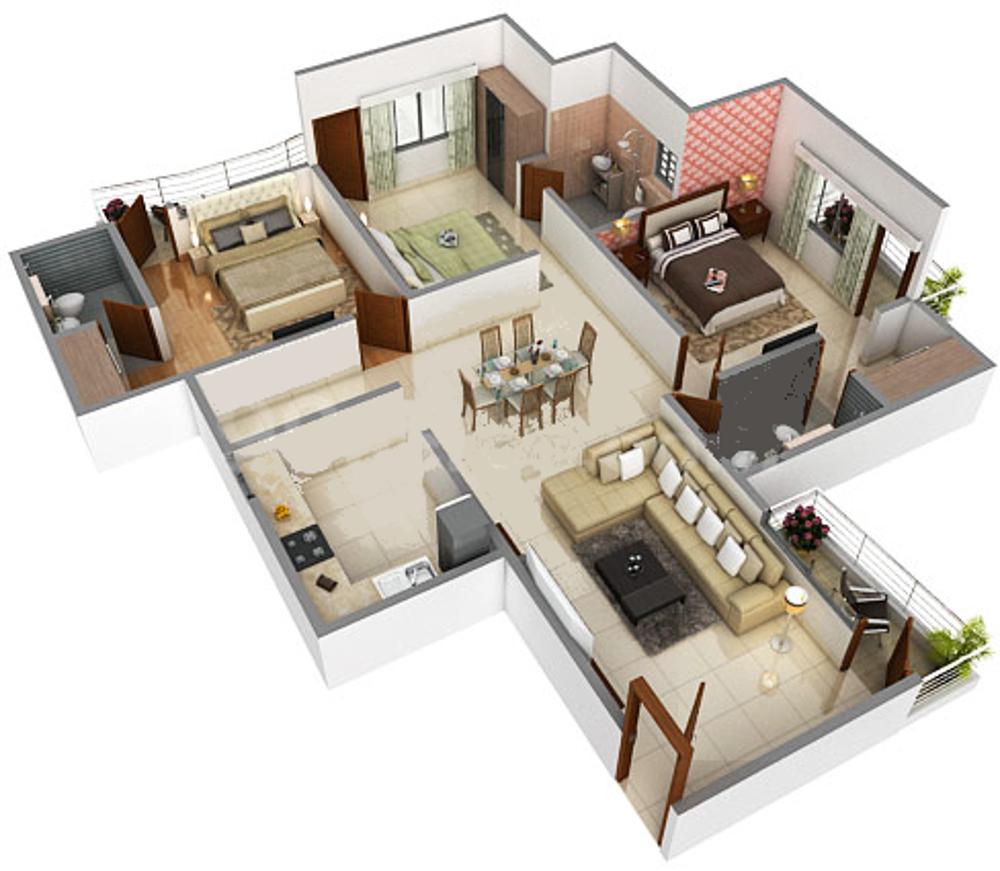 Trine Trinity Kriss Floor Plan