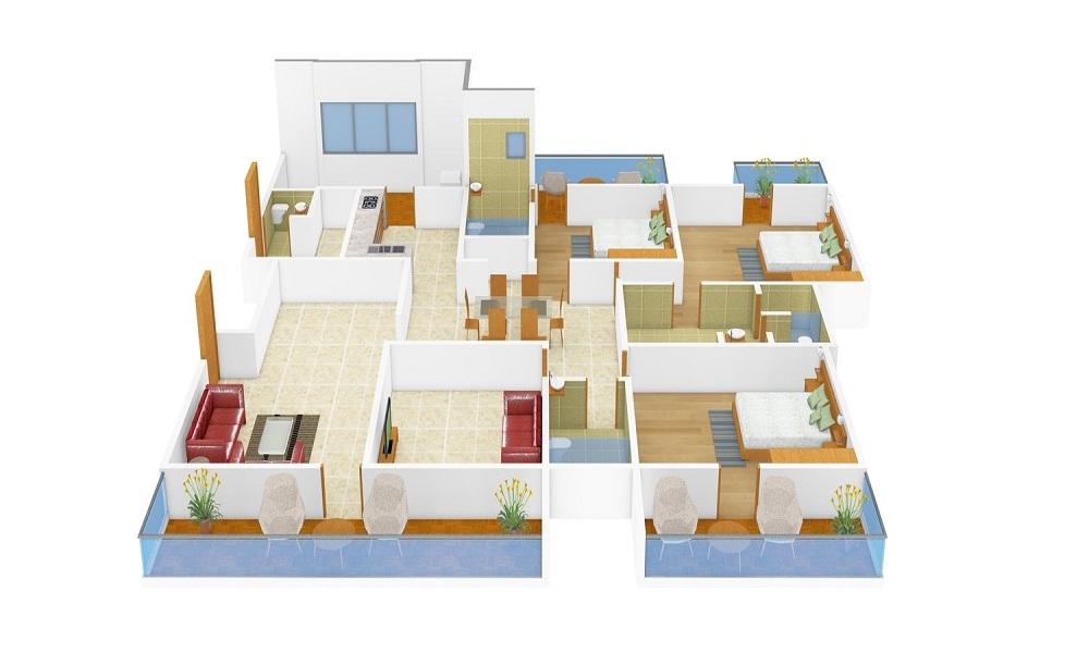 Unishire Pratyaksh Floor Plan