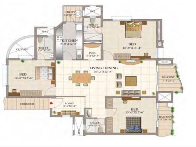 Unishire Signet Floor Plan