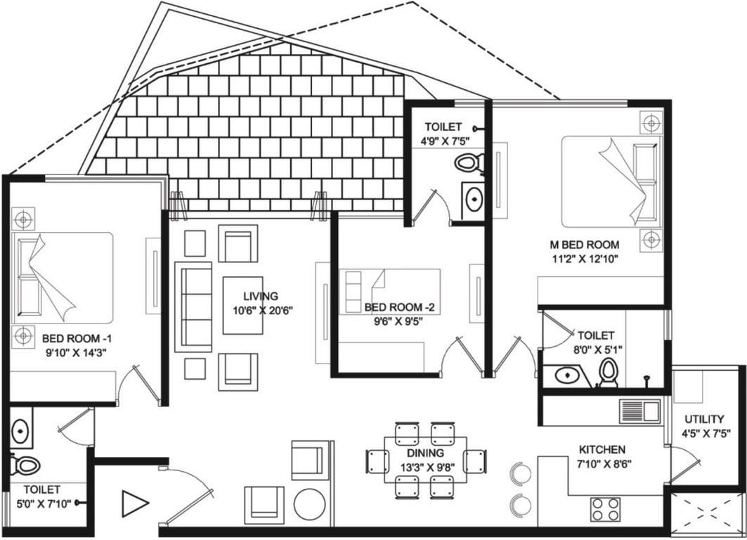 Unishire West Point Floor Plan