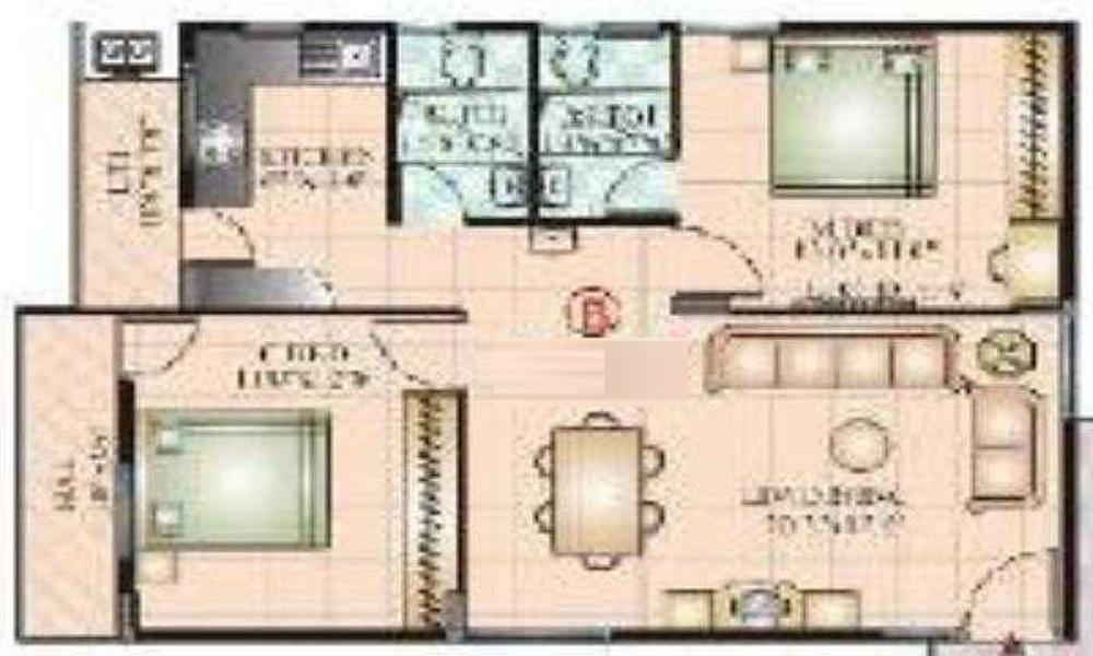 Vaishnavi Prakash Emerald Floor Plan