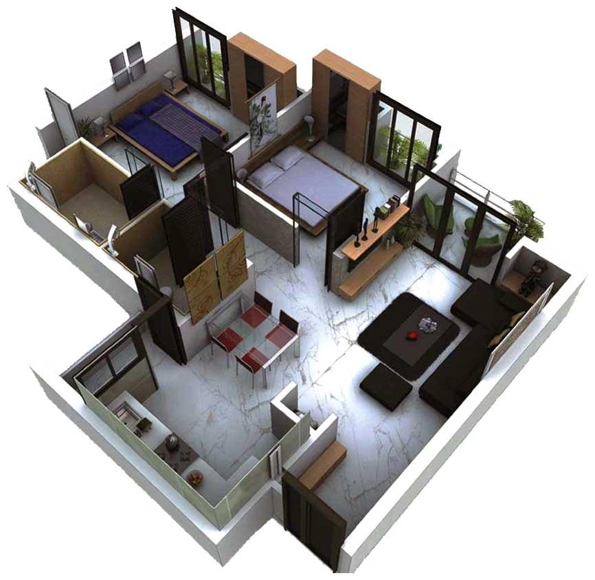 Vandana Meadows Floor Plan