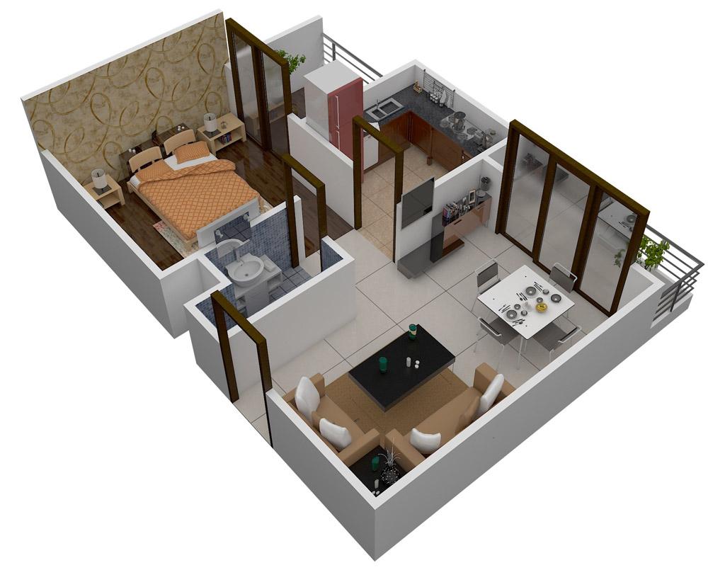 VDB Living Walls Athena Floor Plan