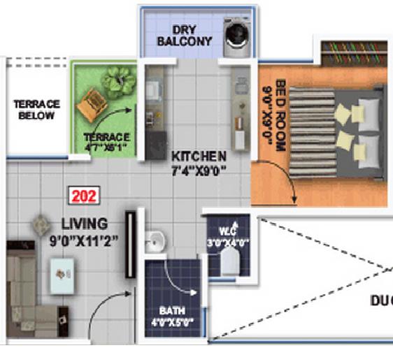 Mantra Magic Floor Plan