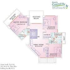 Gera Greens Ville Sky Villas Floor Plan