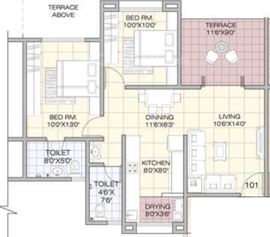 GK Developers Jarvari Floor Plan