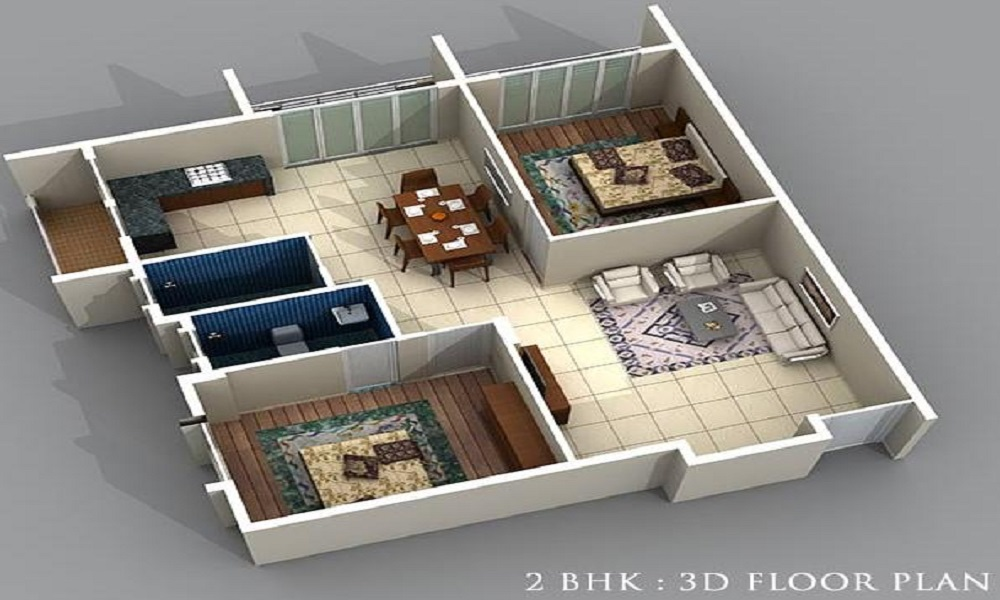 Aakruti Aristo Marvel Floor Plan