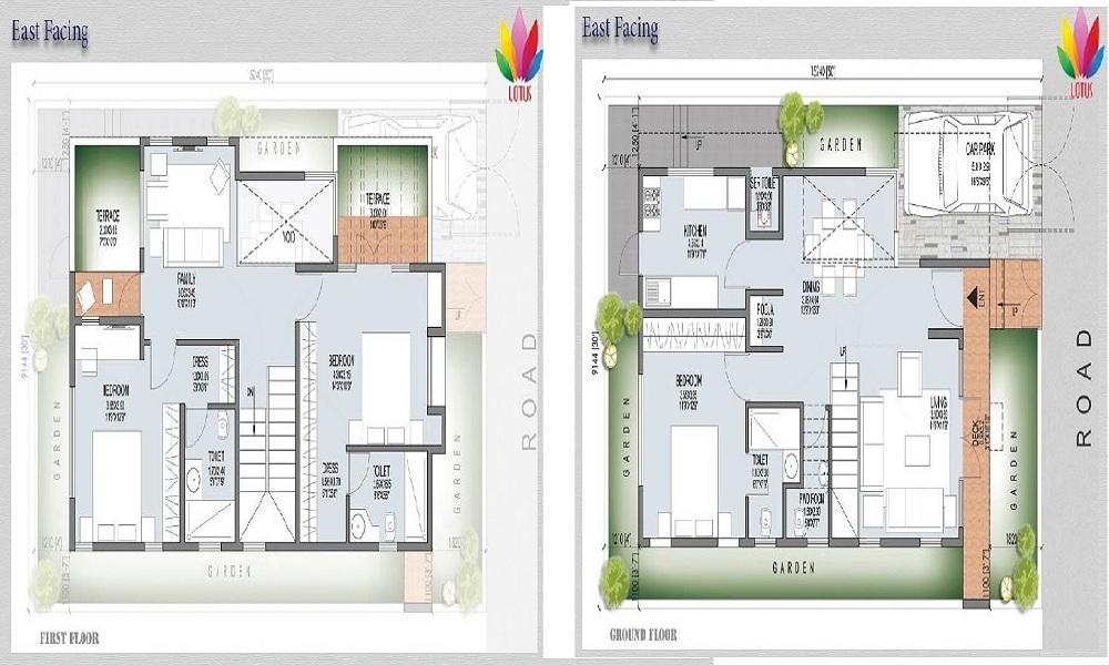 JS Lotus Floor Plan