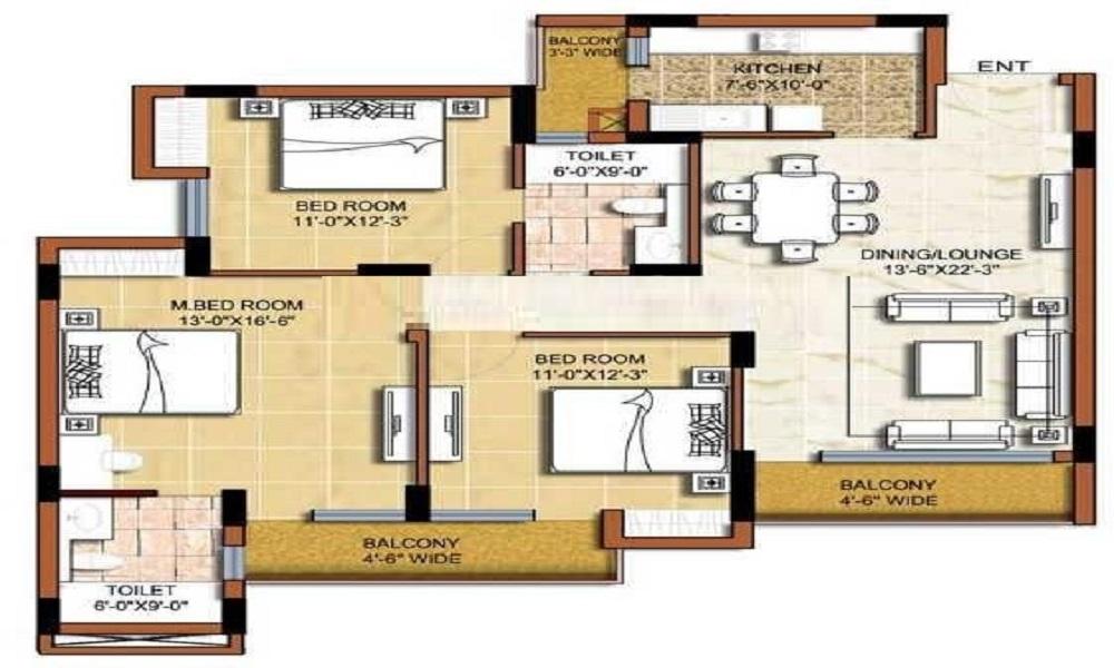 Elegant Da Costa Floor Plan