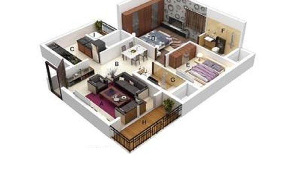 Mahendra Elena 5 Floor Plan