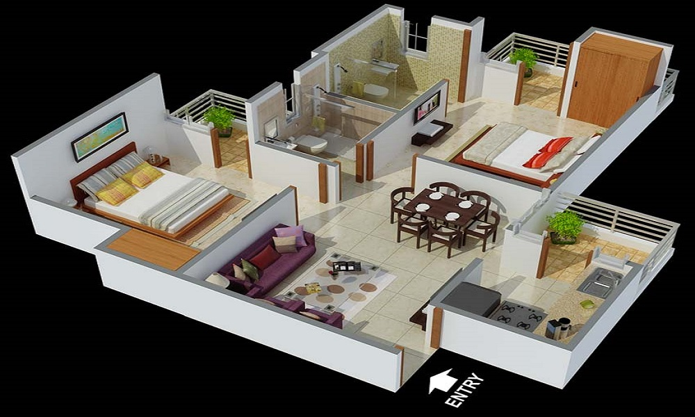 Flourish Lifestyle Lauret Floor Plan