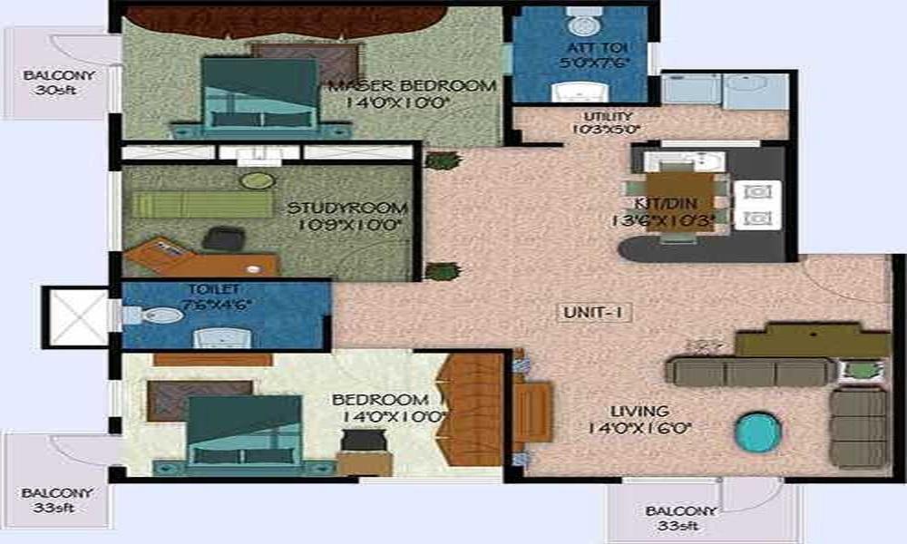 Unique Florence Floor Plan