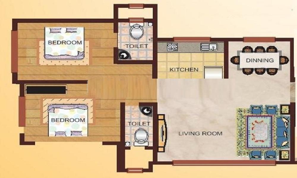 Elegant Kensington Floor Plan