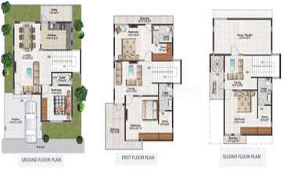 Manya Magnaville Floor Plan