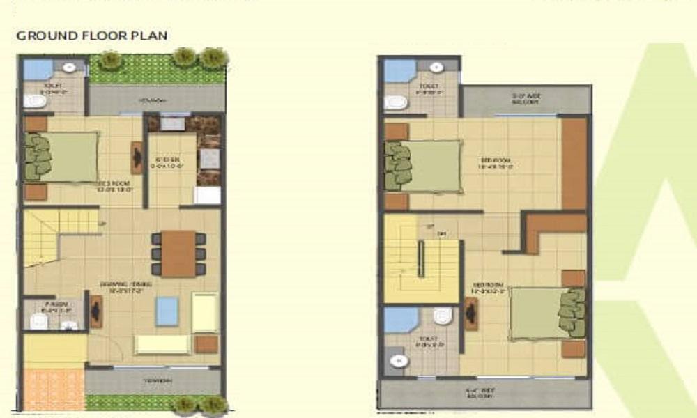 Annciya CR Paradise Floor Plan