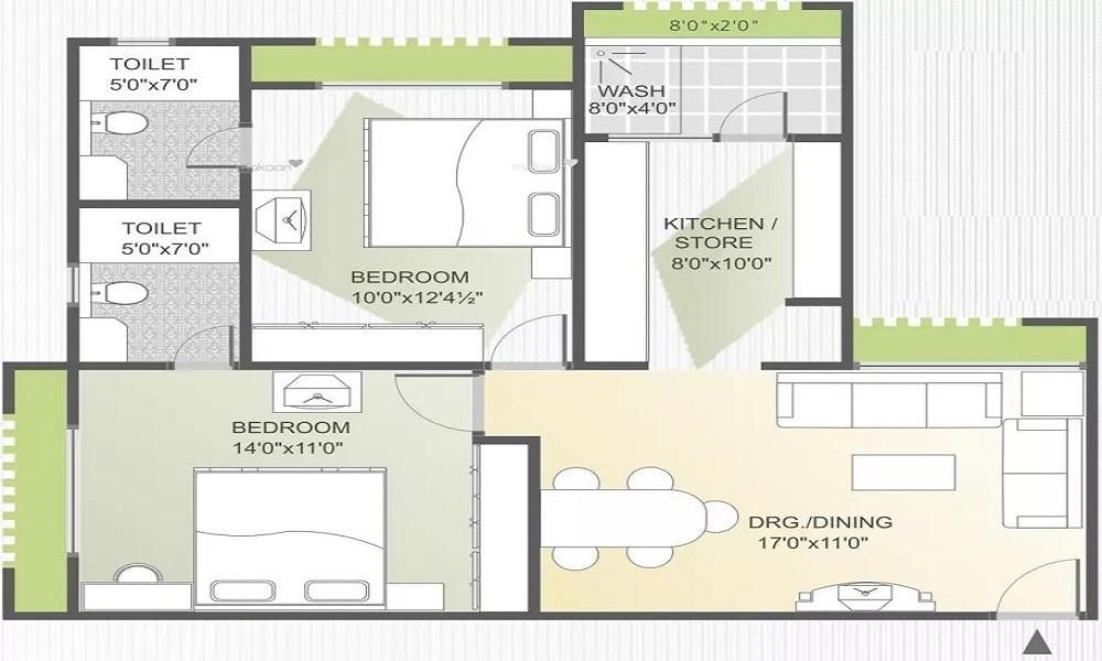 Kristal Axinite Floor Plan