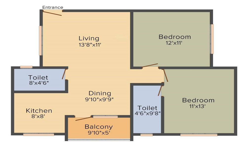 Kumari Ferns Floor Plan
