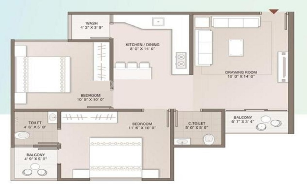 HM Oakdale Floor Plan