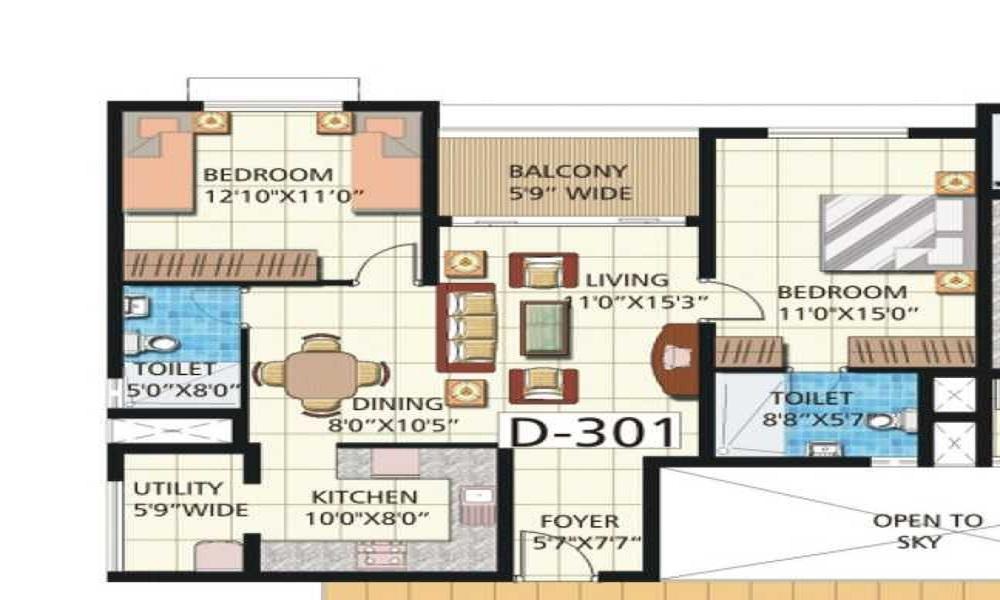 HRC Ibbani Floor Plan