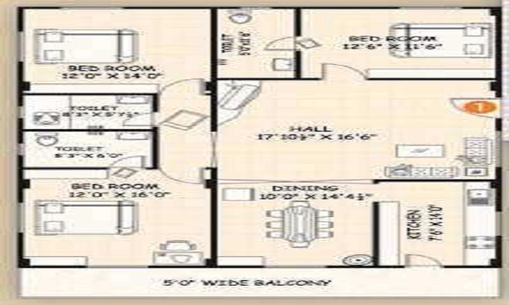 Vijay Icon Floor Plan
