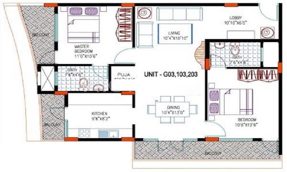 CMRS Celestia Floor Plan