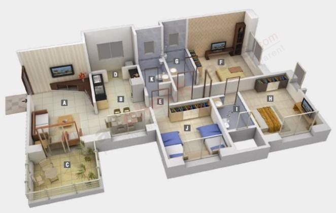 Kumar Karishma Floor Plan