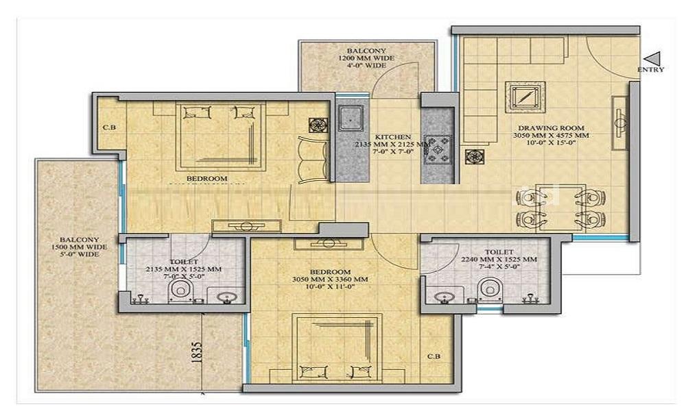 SKAV Palladio Floor Plan