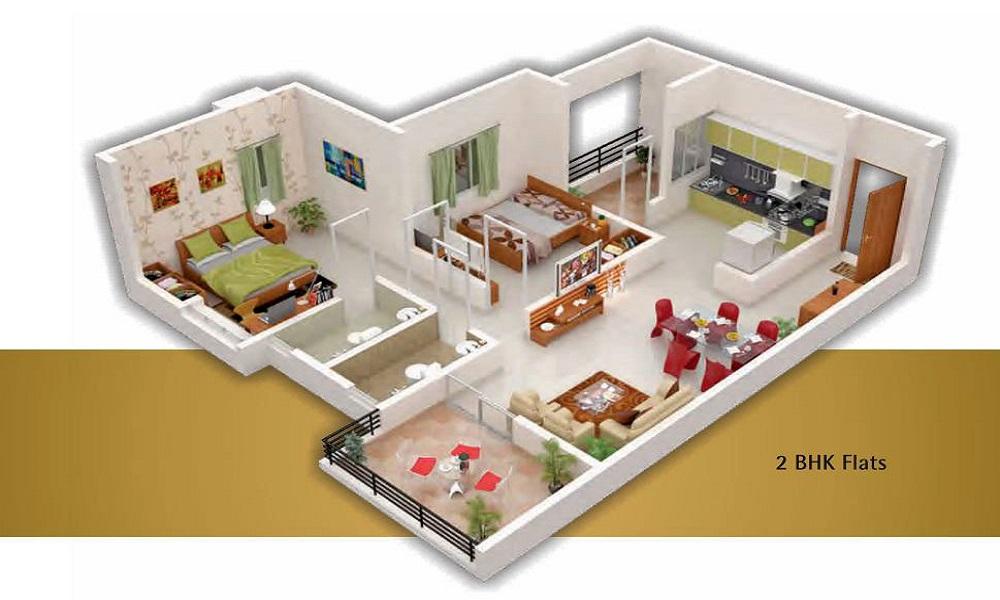 Gruha Kalyan Aster Floor Plan