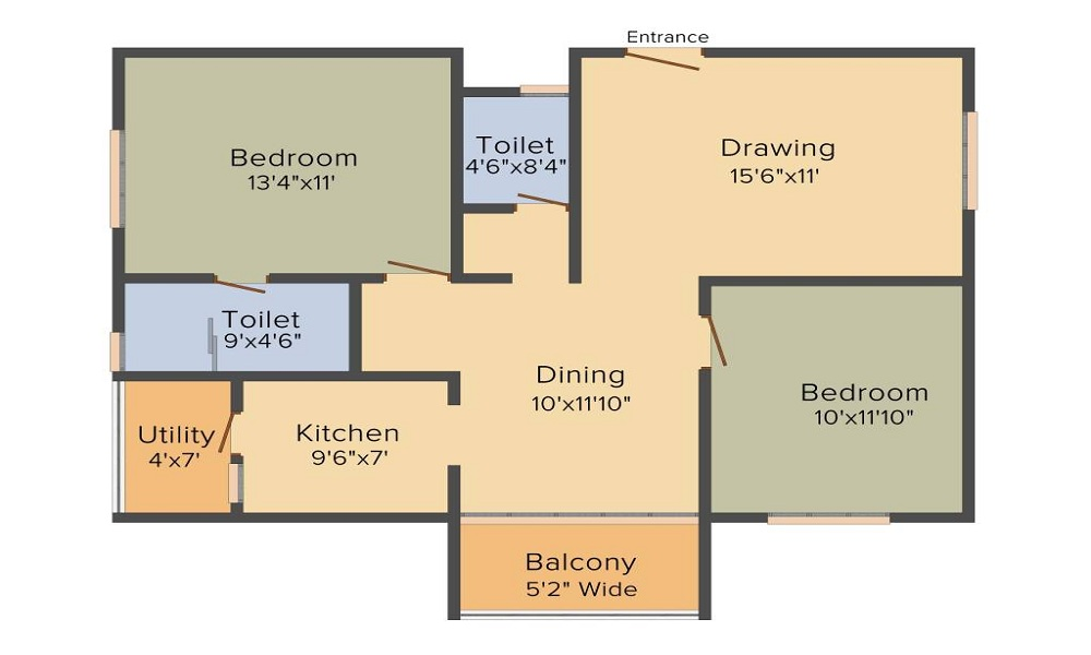 Fortuna Acacia Floor Plan