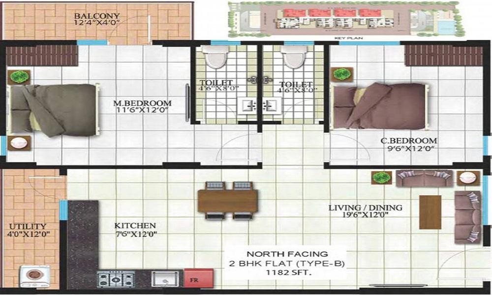 Indya Estates The Mist Floor Plan