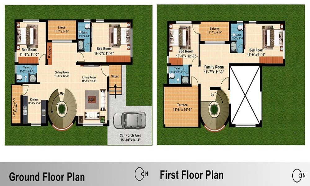 Godrej Gold County Floor Plan