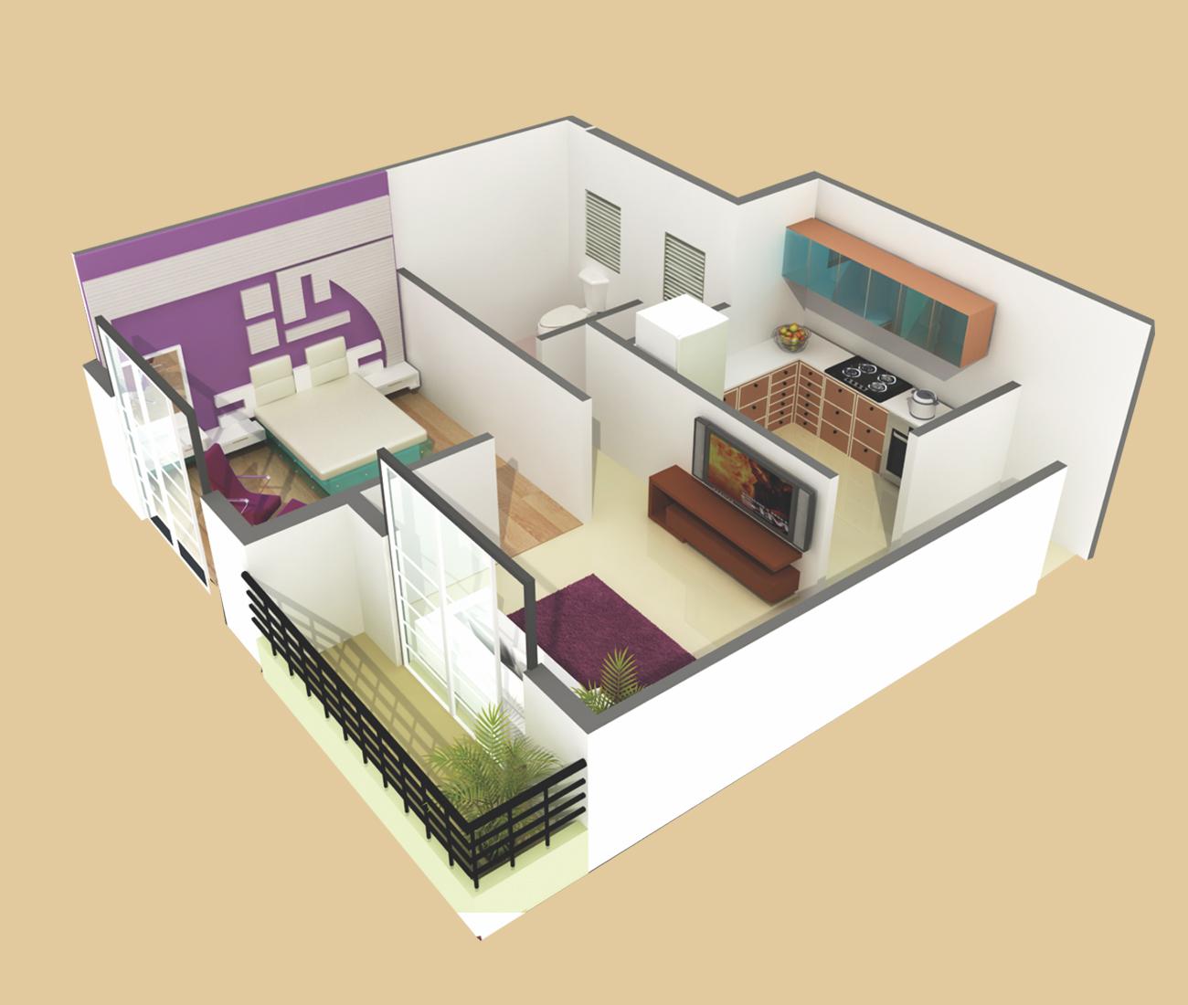 Patel Realty Smondo 4 Floor Plan