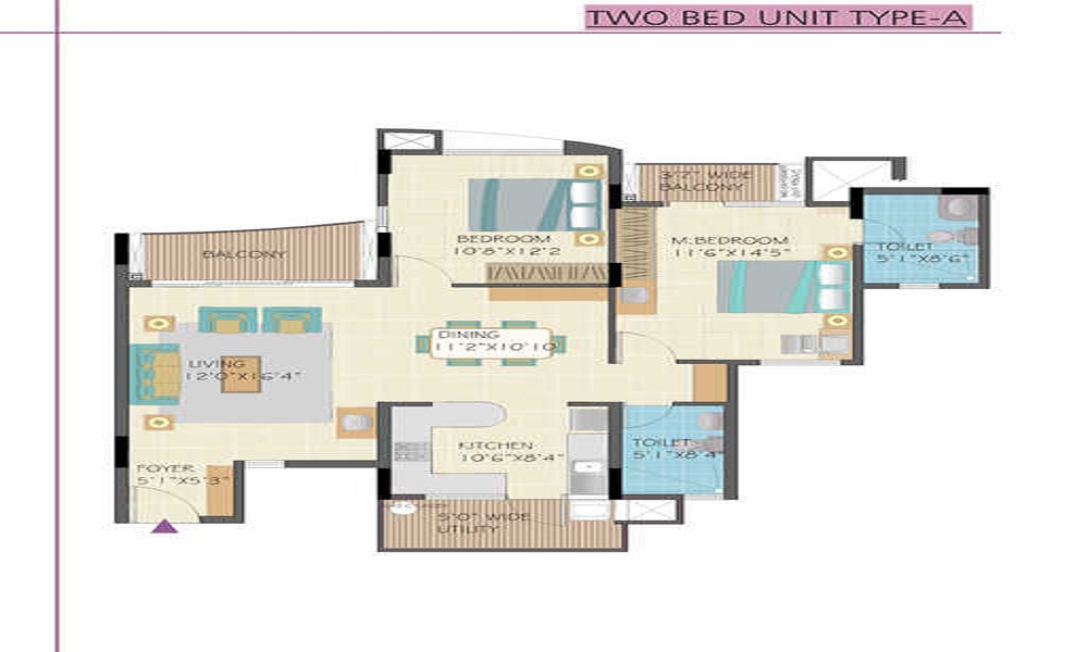 Nitesh Flushing Meadows Floor Plan