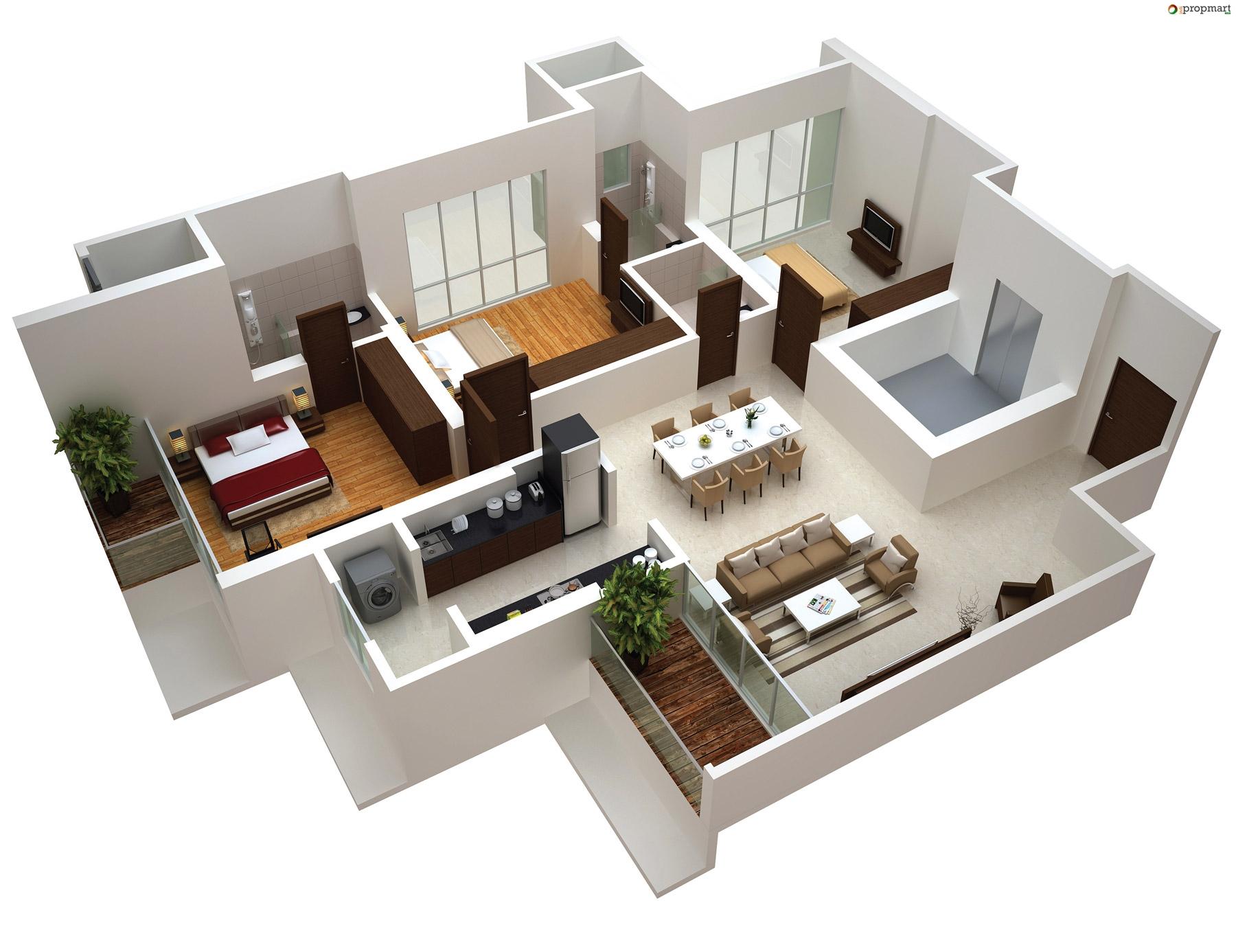 Sobha Jasmine Floor Plan