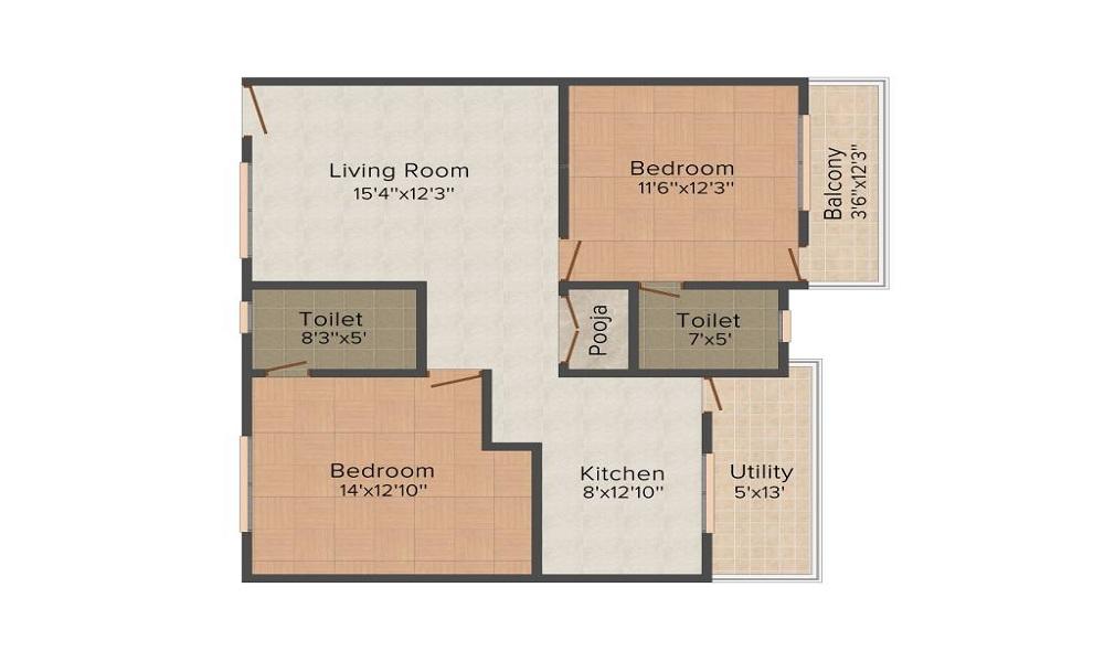 Comfort Flora Floor Plan