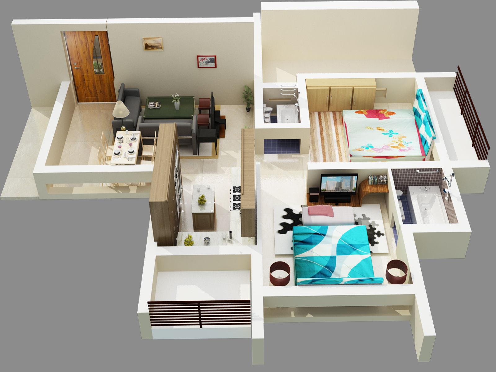 Pavani Paradise Floor Plan
