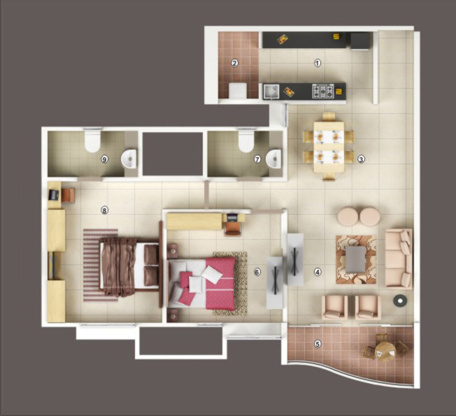 Sobha Quartz Floor Plan