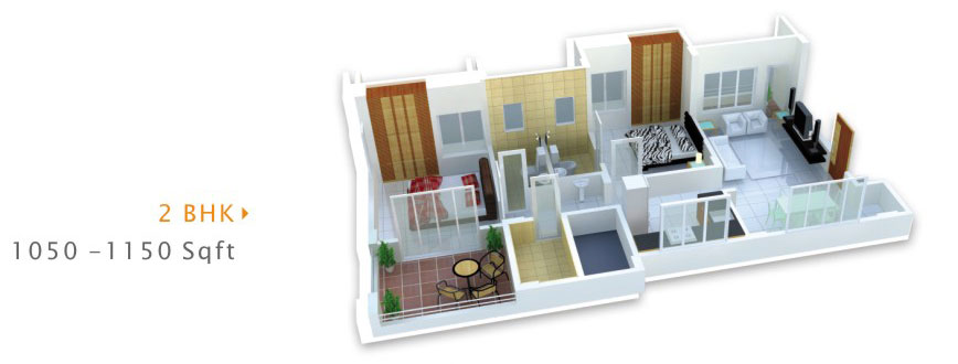 Jampa Royal Heights Floor Plan