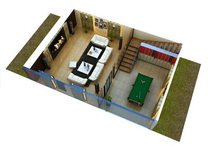 Moksha Shiva Sai Apartment Floor Plan