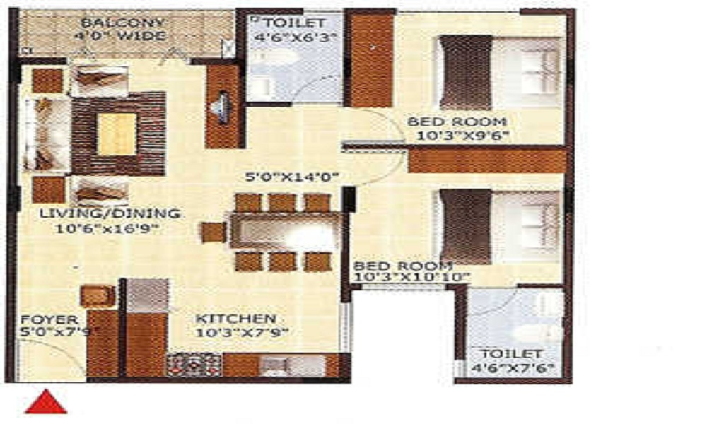 SLV Belmont Floor Plan
