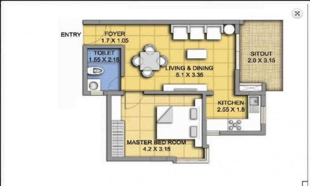 ATZ Rock View Floor Plan