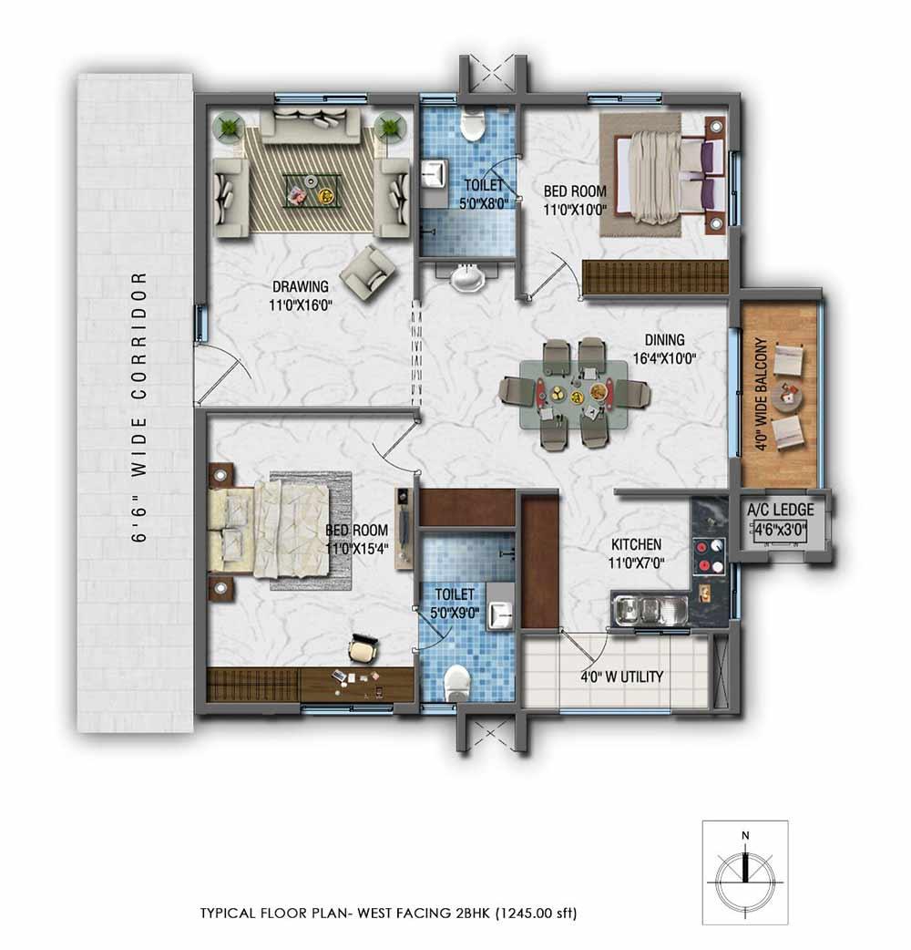 Sumukha Greenville Floor Plan