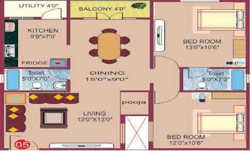 LVS Lavender Floor Plan