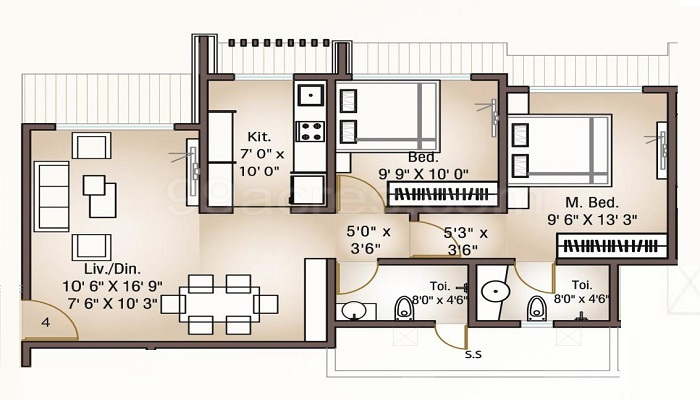 Phadnis Group Eastern Ranges Floor Plan