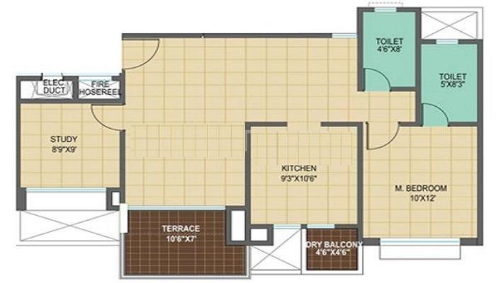 Pharande Spaces Woodsville Floor Plan