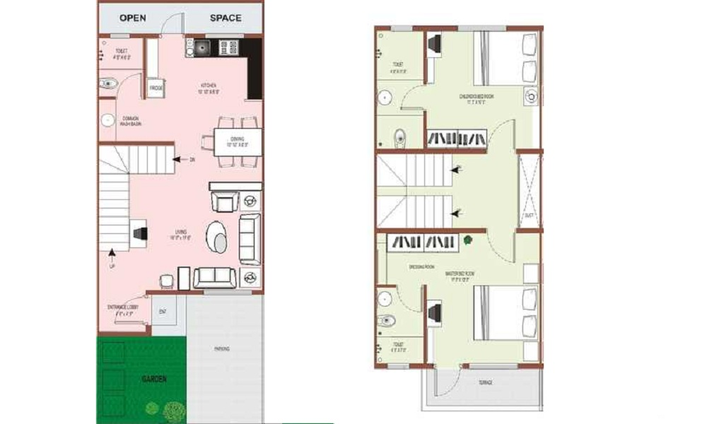 Raviraj Group Ozone Villas Floor Plan